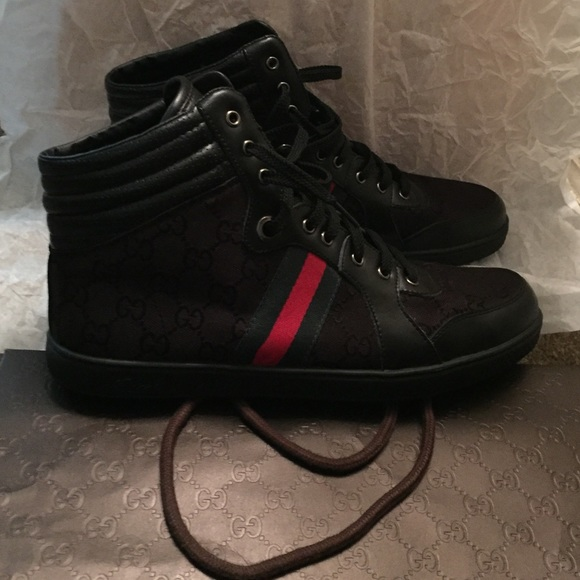 1cac111dd7c Gucci Other - Vintage Gucci interlocking G High-Tops