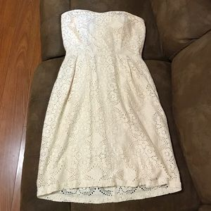 Mystic strapless dress