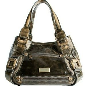 🔶️JUST IN🔶️ Jimmy Choo Metallic Mahala Tote