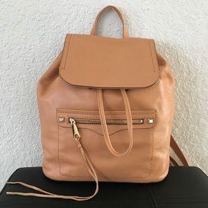 NWT Rebecca Minkoff Backpack Regan color Honey 