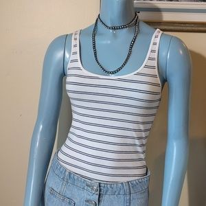 Bundle (2) Nautical Stripe Tanks