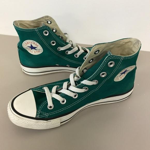 Emerald Green Converse High Tops | Poshmark