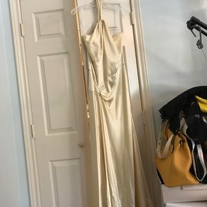 Canary gown long dress