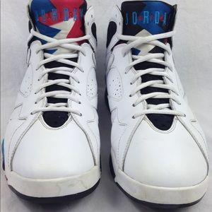 Nike Air Jordan Retro 7 VII 'Orion' Shoes Size 10