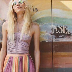 Accessories - Prismatic Glass Kaleidoscope Sunglasses Round