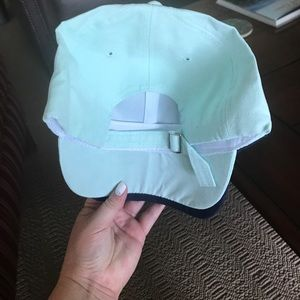 Accessories - NEW • faux suede mint baseball cap