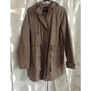 Taupe Casual Jacket - Forever 21+