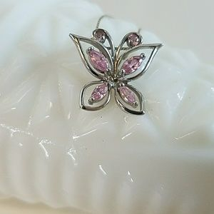 Jewelry - Butterfly Sterling Silver Necklace