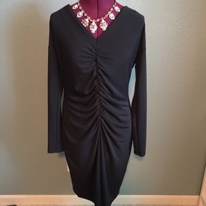 Dress, black, long sleeve.  Excellent Condition