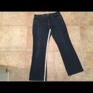 Ann Taylor Loft Jeans - Ann Taylor Loft Curvy Bootcut Jeans size 8