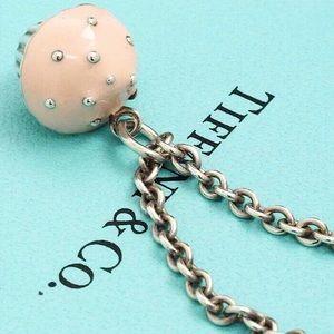 Authentic Tiffany & Co Rare 925 Cupcake Necklace