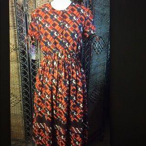 Isaac Mizrahi for Target red dress