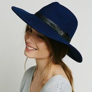 •Free People• Embellished Matador Hat