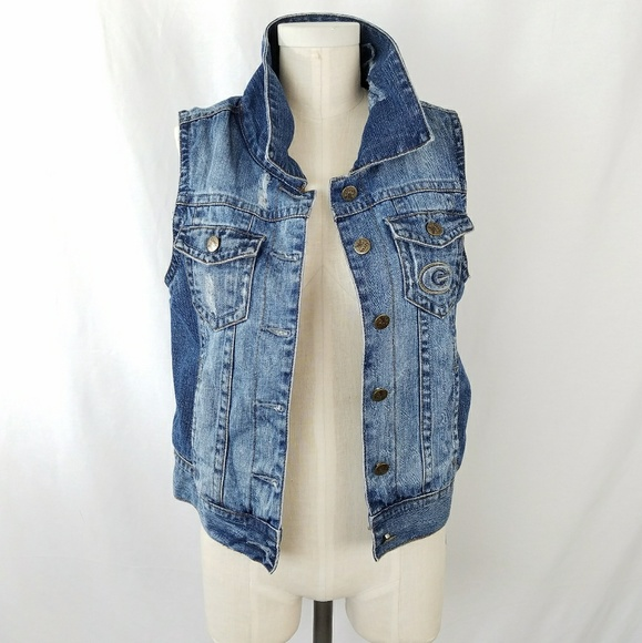 b44a83427 Touch by Alyssa Milano Jackets & Coats | Greenbay Packers Distressed ...