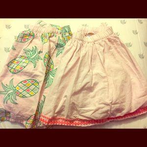 Gymboree Girls Skirt Set (2) Size 12