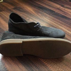 Robert Wayne Shoes - Robert Wayne Men's Blue Suede Shoes