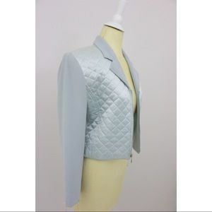 Zippered Quilt Blazer🎉SOLD🎉