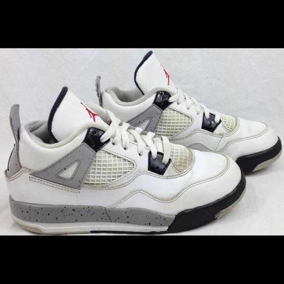 Nike Air Jordan Retro 4 IV 'White Cement' Shoes