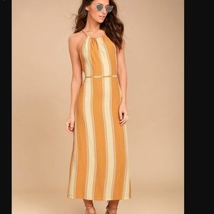 NWT Faithful the Brand Tuscany midi dress