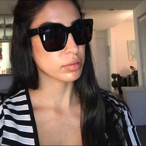 94fcbdab7d Celine Accessories - Celine Tilda Black Sunglasses 41076