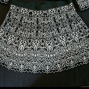 Xhilaration XXL Patterned Sweater Skirt