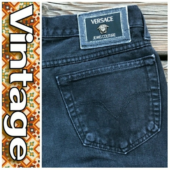 Versace Jeans Collection Jeans   Vintage Versace Highwaisted Sz 31 ... 7cd07f7c17