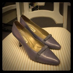 Vintage Bally Leather Pumps