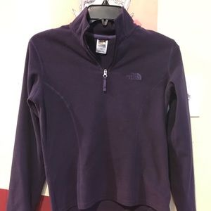 Juniors North Face fleece sweatshirt