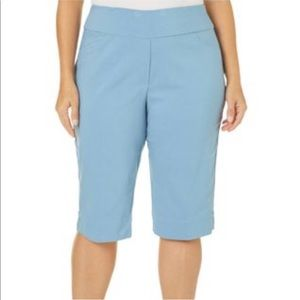 NWT Rafaella stretch cotton oxford bermuda shorts