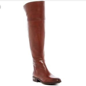 Vince Camuto Leather Over the Knee Boot