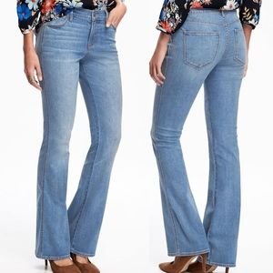 OLD NAVY Micro Flare Jeans Tioga Pass 16 or 18 NWT