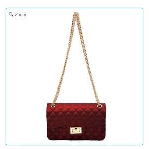 Handbags - NEW-Embossed Quilt Classic Shoulder Bag