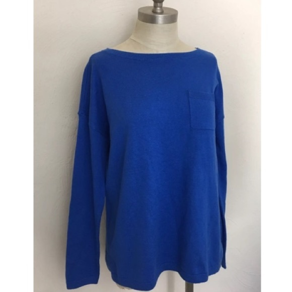 93% off Talbots Sweaters - Talbots Royal Blue Pullover Sweater ...