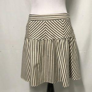 Diane von Furstenberg striped skirt