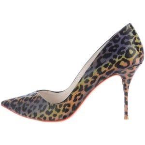 Sophia Webster Holographic Heels Size 6.5