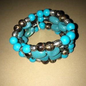 Jewelry - Stretch beaded bracelet