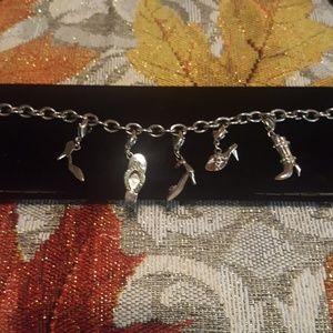 💎Swarovski Shoe Charm Bracelet
