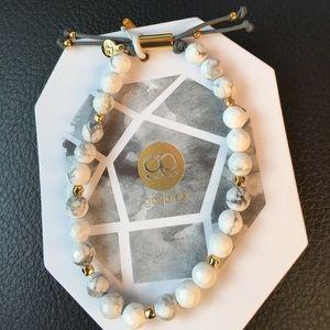 Gorjana howlite bracelet