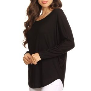 f612eedbcc5431 Tops - New! Dolman Sleeve Casual Knit Top (S-M-L)
