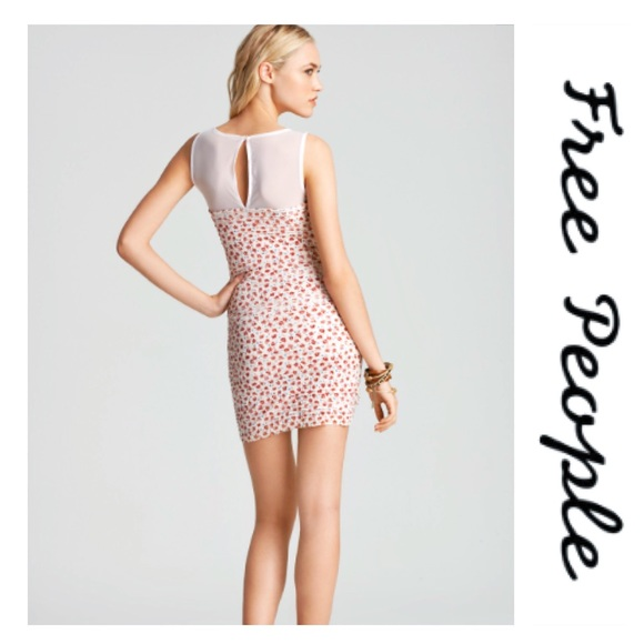 Free People Dresses & Skirts - Free People | Floral Shimmy Bodycon Dress