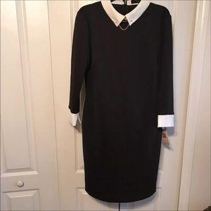 Ivanka Trump Black  Dress Size 16 NWT