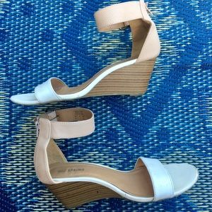 Ankle satrap wedge heels