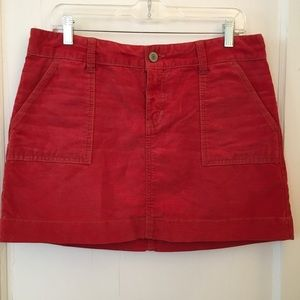 Fun corduroy mini skirt