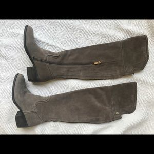 Vince Camuto Baldwin Suede Over The Knee Boot, Sz6