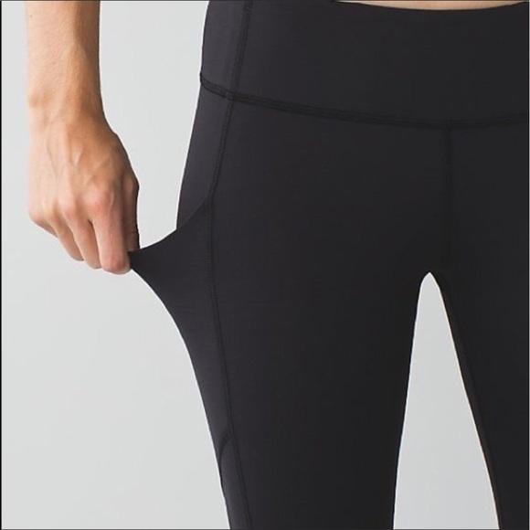 57df8ef447fb5 lululemon athletica Pants | Lulu Lemon Speed Leggings With Side ...