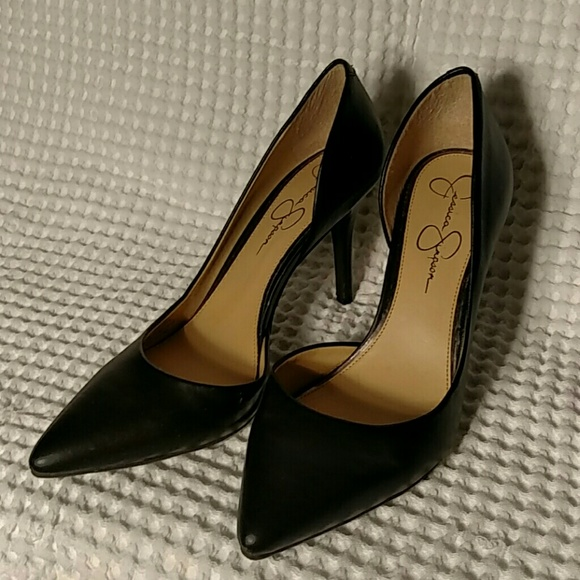 745a7b17a374 Jessica Simpson Shoes - Jessica Simpson Livvy D Orsay Pump Black 10