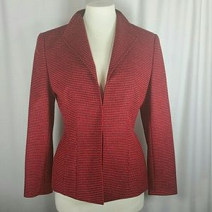 Escada for Neiman Marcus Houndstooth Jacket 38