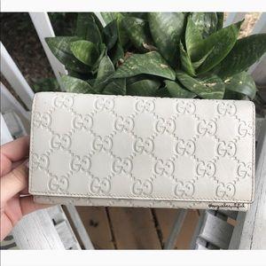 Gucci Guccissima Continental Monogram Wallet