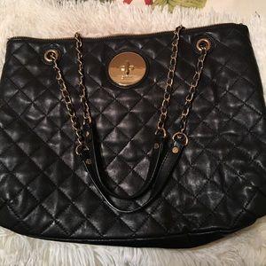 90% off DKNYC Handbags - DKNY Black Leather bag Awesome Braided ... : dkny black quilted handbag - Adamdwight.com