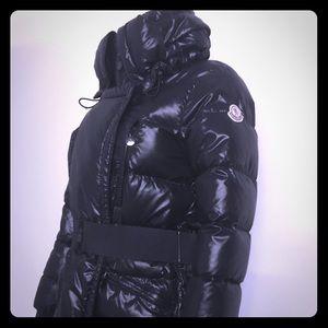 Moncler Mid Length Black Puffer